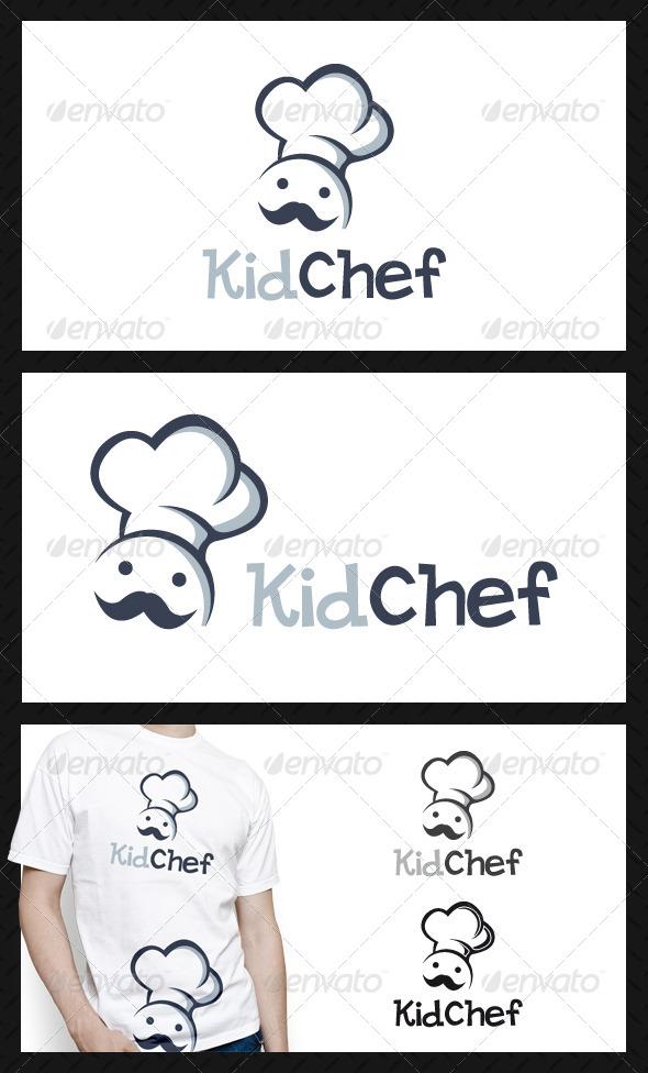 GraphicRiver Kid Chef Logo Template 4665813
