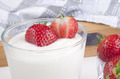 greek yogurt and fresh strawberries - PhotoDune Item for Sale