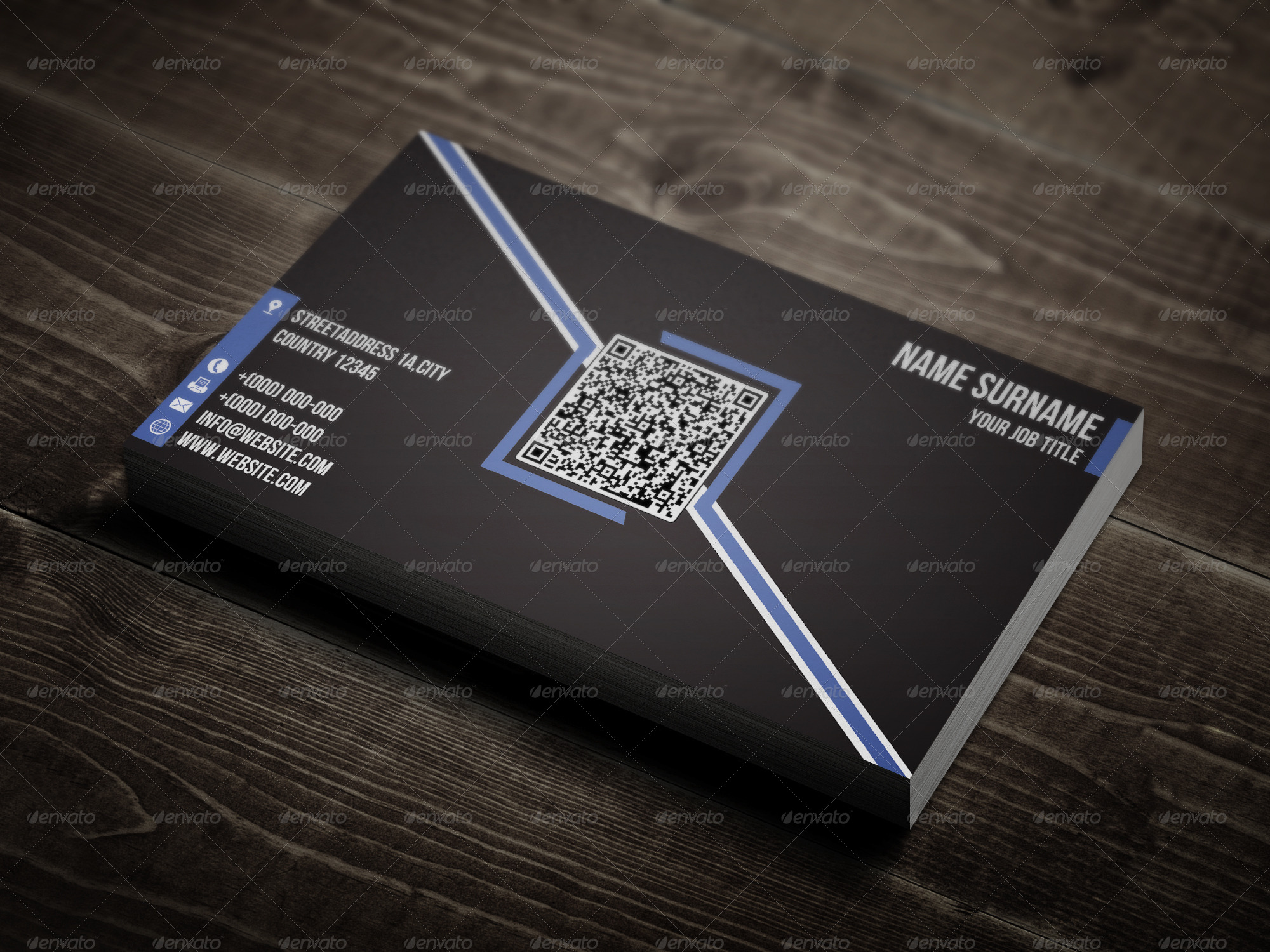 Creative QR Code Business Card