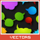 43 Colorfull Speech Bubbles - GraphicRiver Item for Sale
