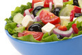 salad in bowl on white - PhotoDune Item for Sale