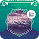 Silent Mountains Flyer - GraphicRiver Item for Sale