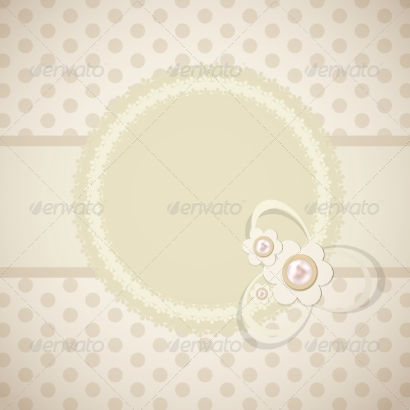 GraphicRiver Frame in Retro Vintage Background 4666520