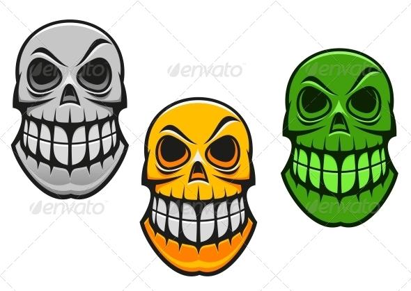 GraphicRiver Monster Skull 4667241