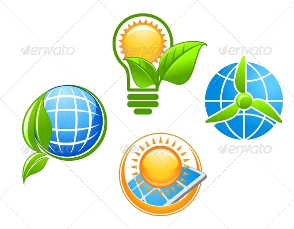 GraphicRiver Ecology and Environment Icons 4667378