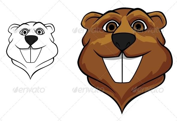 GraphicRiver Beaver Mascot 4667408