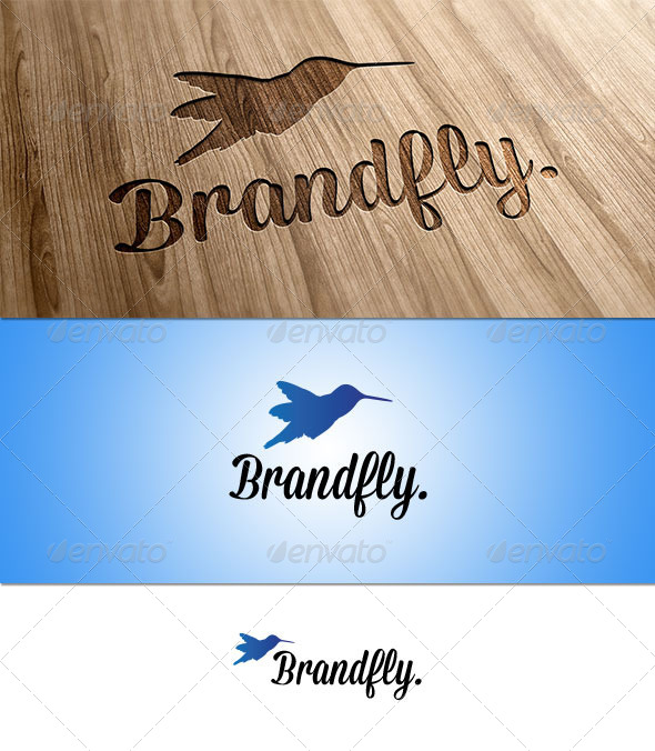 GraphicRiver Brandfly Bird Logo 3742542