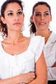 Two Business Women Standing With Arms Crossed - PhotoDune Item for Sale