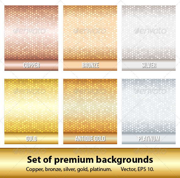 GraphicRiver Set of 6 Premium Backgrounds 4668020