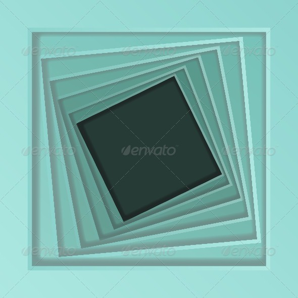 GraphicRiver Abstract Spiral Frame 4668295