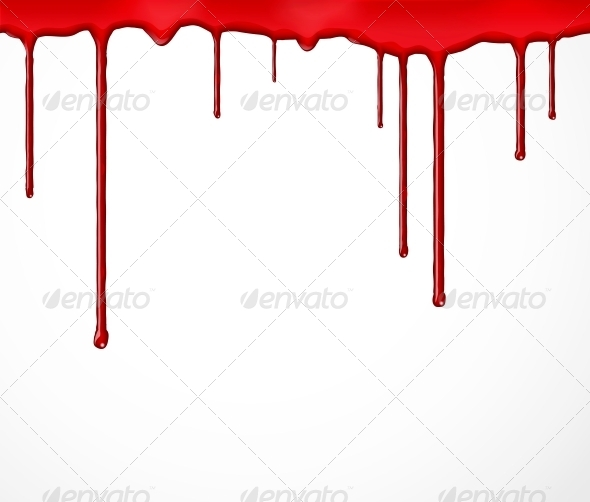 GraphicRiver Background with Blood 4668598