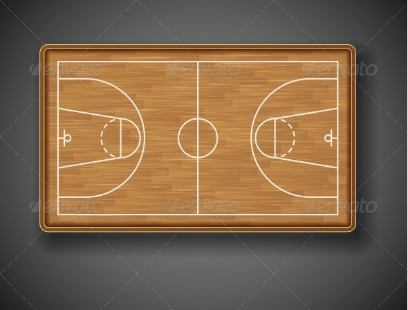GraphicRiver Basketball Court 4668780