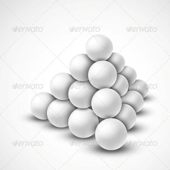GraphicRiver Pyramid from Balls 4668818