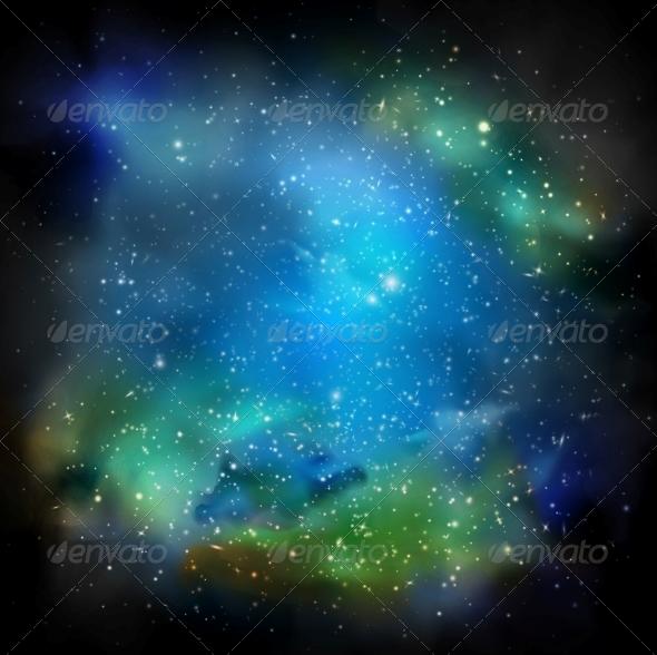 GraphicRiver The Galaxy 4668820