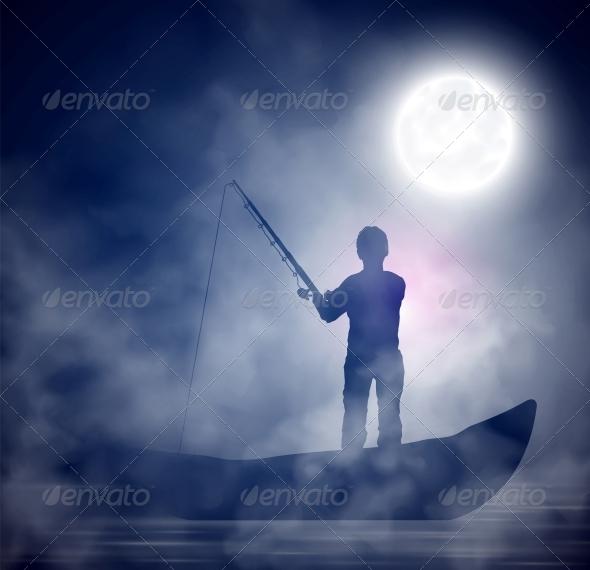 GraphicRiver Night Fishing 4668837