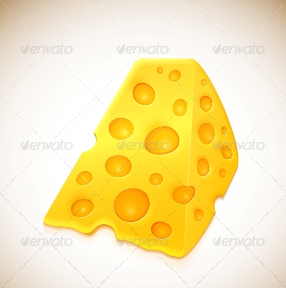 GraphicRiver Piece of Cheese 4668846