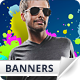 Energic Web Banners - GraphicRiver Item for Sale