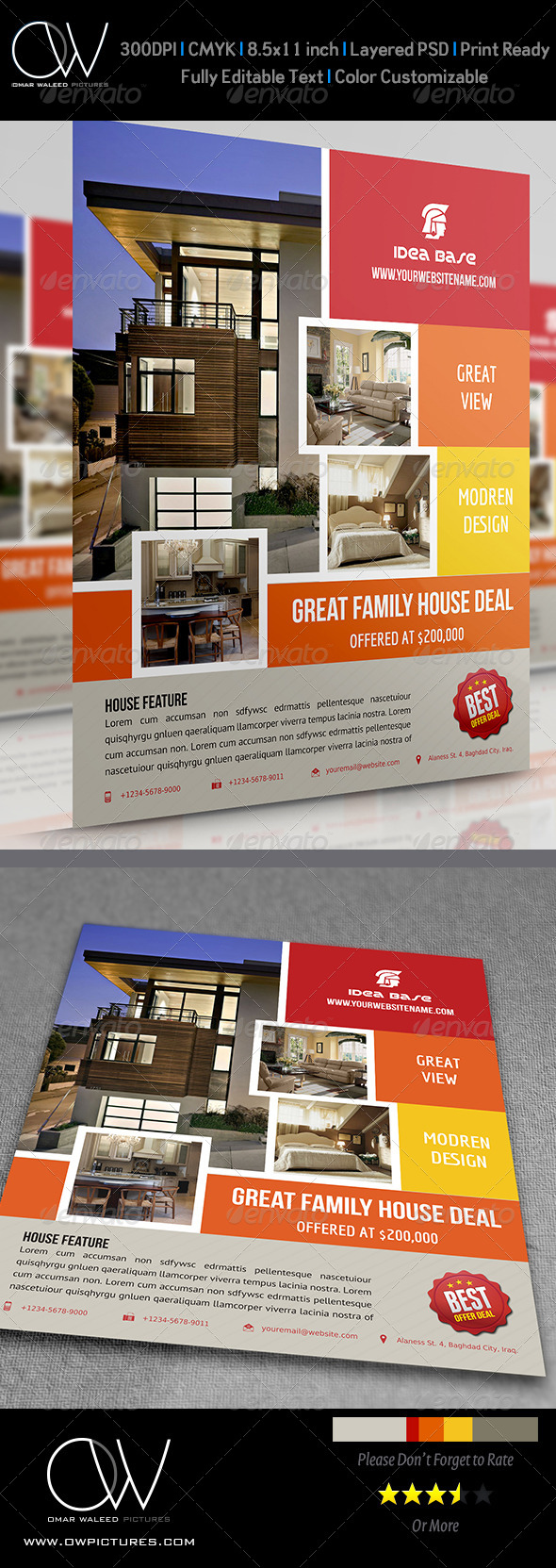 Real Estate Flyer Vol.5 - Commerce Flyers