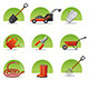 Garden Tools Icon Set - GraphicRiver Item for Sale