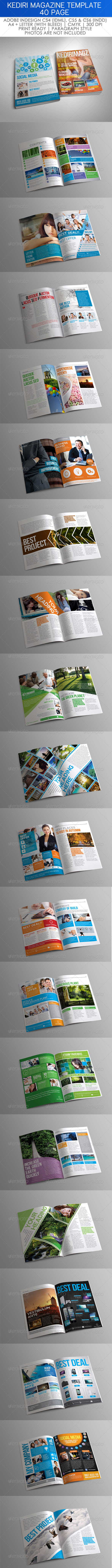 GraphicRiver Kediri Magazine Template 4669887