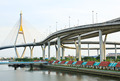 Bhumibol Bridge , Bangkok, Thailand - PhotoDune Item for Sale
