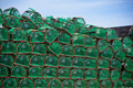 Lobster and Crab traps stack in a port - PhotoDune Item for Sale