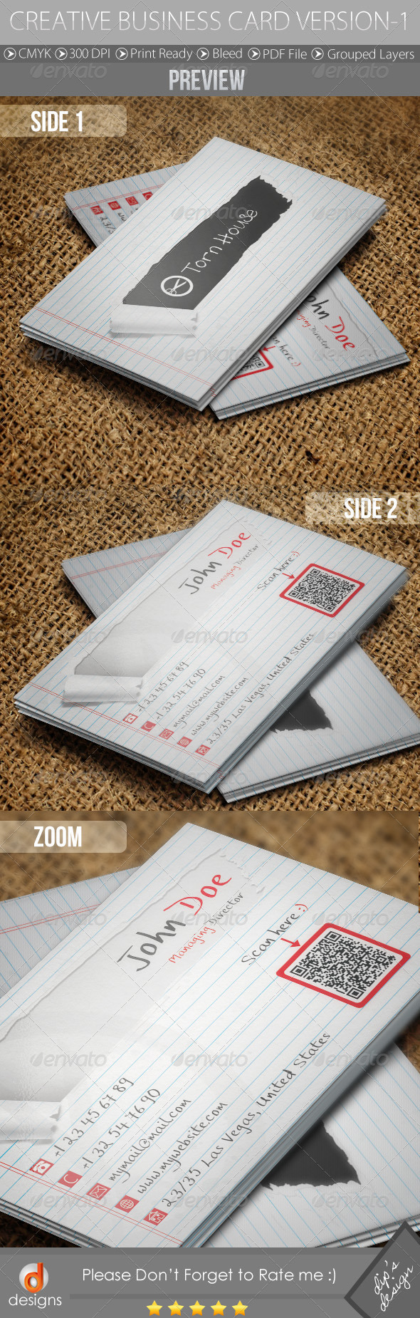 GraphicRiver Creative Business Card Version-1 4670264