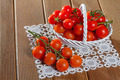 Fresh tomatoes on wooden background - PhotoDune Item for Sale