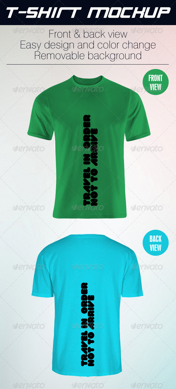 GraphicRiver Grapulo T-Shirt Mock Up 4568552