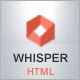 Whisper - Creative Corporate Theme - ThemeForest Item for Sale