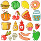 Food Doodle - GraphicRiver Item for Sale