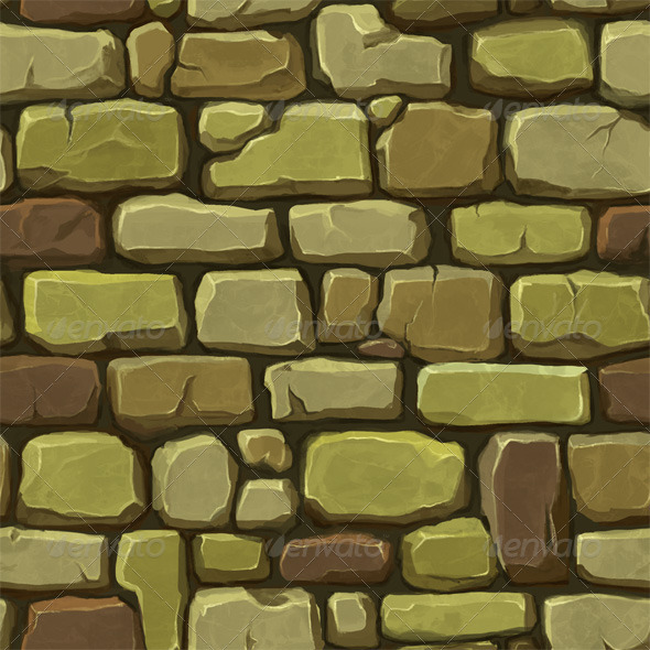 Stone Wall Texture 2 - 3DOcean Item for Sale