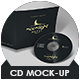 Cd Mock-Up - GraphicRiver Item for Sale