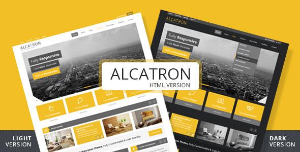 ThemeForest Alcatron A multipurpose responsive template 4657342