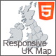 Responsive UK Map - HTML5 - CodeCanyon Item for Sale