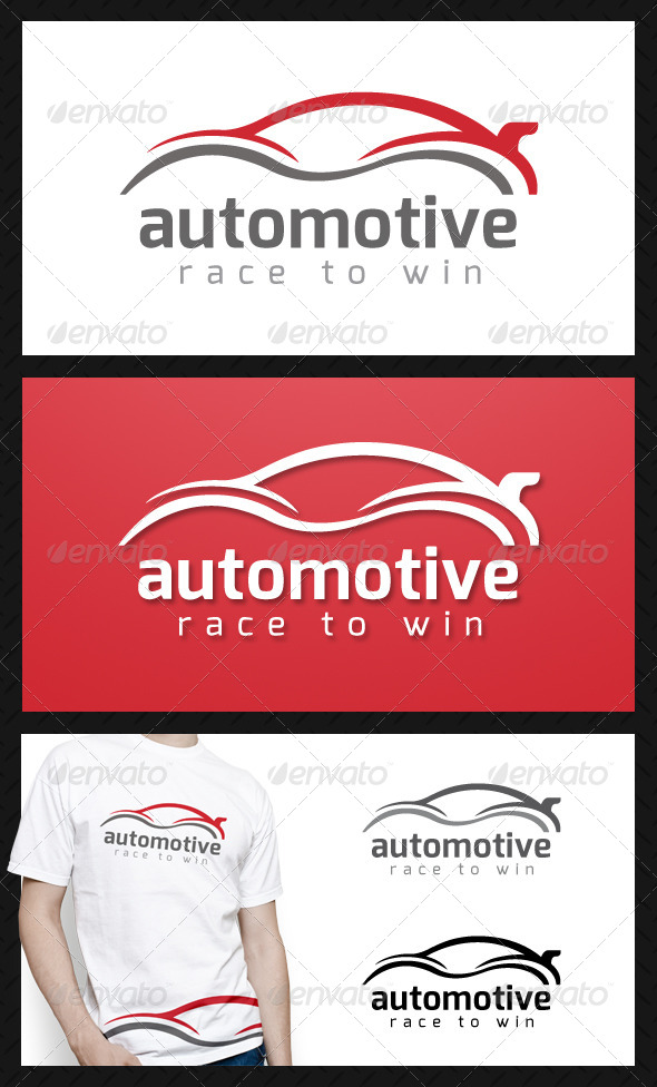 GraphicRiver Automotive Logo Template 4671752