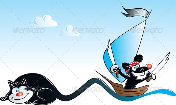 GraphicRiver Pirate Mouse 4672059