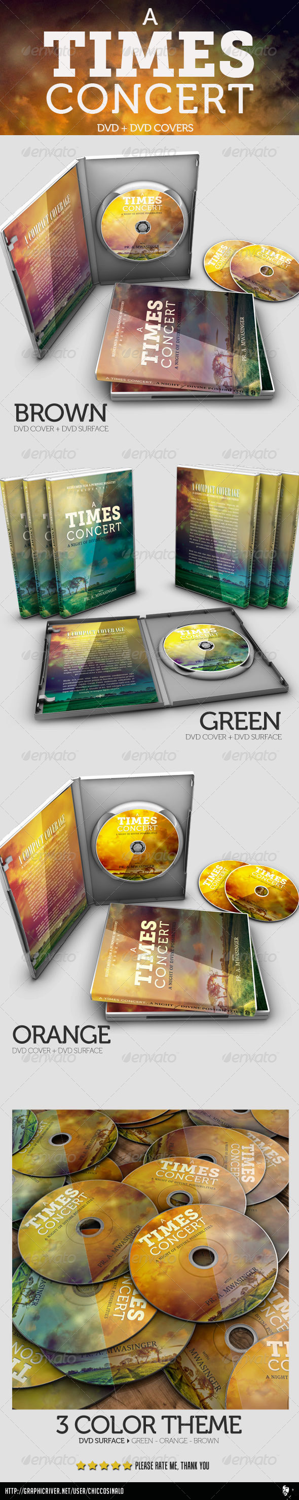 GraphicRiver A Times Concert DVD and DVD COVER 4672266