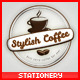 Stylish Coffee Stationery - GraphicRiver Item for Sale