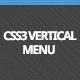 CSS3 Vertical Menu - CodeCanyon Item for Sale