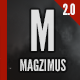 Magzimus | Blog & Magazine theme - ThemeForest Item for Sale