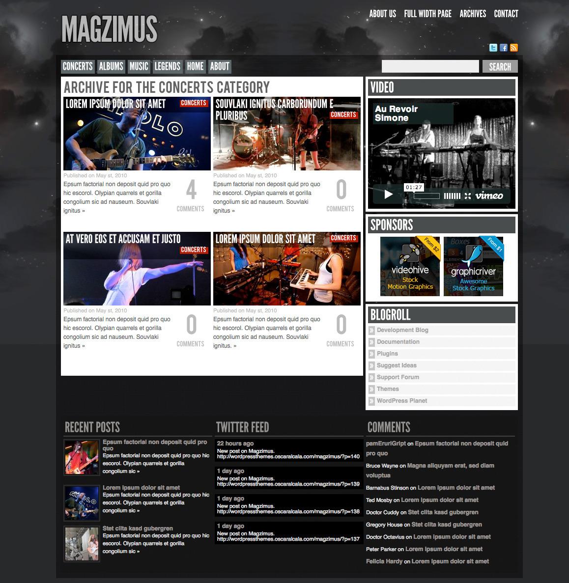Magzimus | Blog & Magazine theme