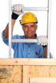 Construction Worker Climbing Ladder - PhotoDune Item for Sale