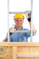 Carpenter With Ladder and Hammer - PhotoDune Item for Sale