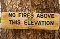 No Fires Sign - PhotoDune Item for Sale