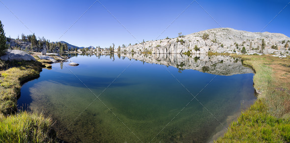 Sierra Lake - Stock Photo - Images