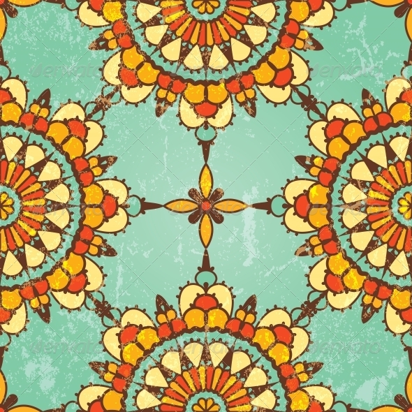 GraphicRiver Ornamental Seamless Pattern 4674519