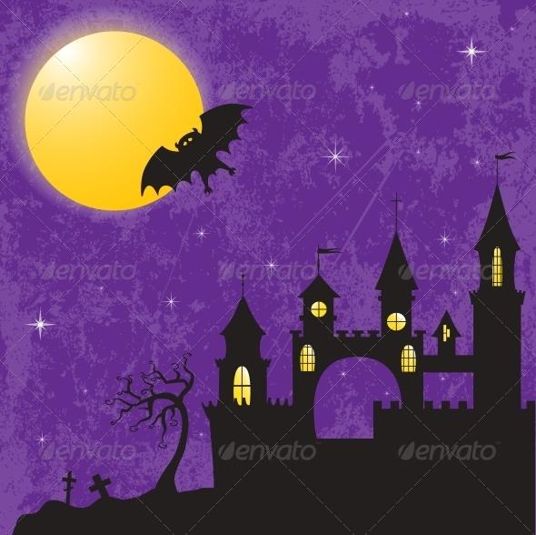 GraphicRiver Halloween Castle 4674589