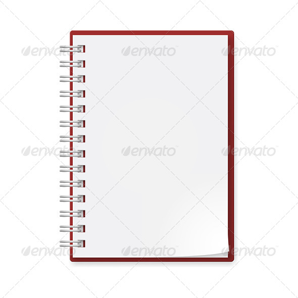 GraphicRiver Realistic Notebook 4674623
