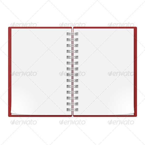 GraphicRiver Realistic Notebook 4674627